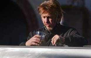 Sean Penn, le 11 janvier 2021, à Brentwood, Los Angeles.