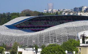 Le stade Jean-Bouin, à Paris.