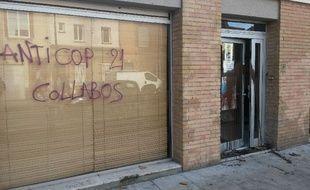 Le local d'EELV a été la cible d'activistes