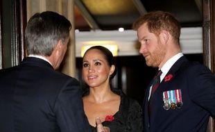 Meghan Markle et son mari, le prince Harry