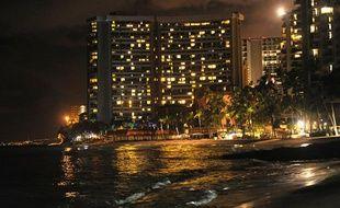 Les côtes de Hawaï ont été évacuées en prévision de l'arrivée du tsunami après le séisme qui a frappé le Japon le 11 mars 2011.