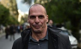 Le nouveau ministre des Finances grec Yanis Varoufakis, le 27 janvier 2015 à Athènes