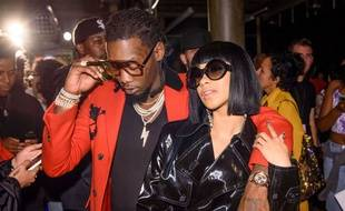 Offset et Cardi B le 11 septembre 2017 à New York.