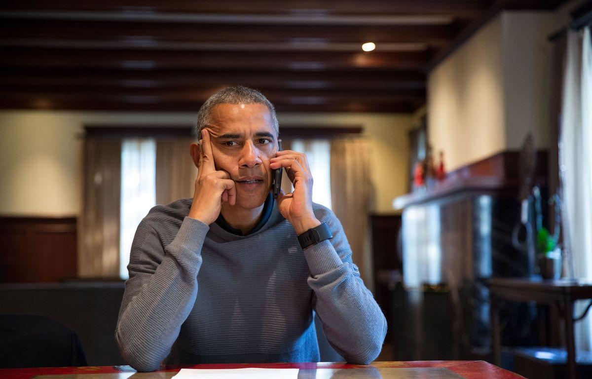Barack Obama dans sa maison de Chicago, le 8 octobre 2016. – P.SOUZA/MAISON BLANCHE