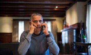 Barack Obama dans sa maison de Chicago, le 8 octobre 2016.