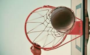 Un ballon de basket (Illustration)