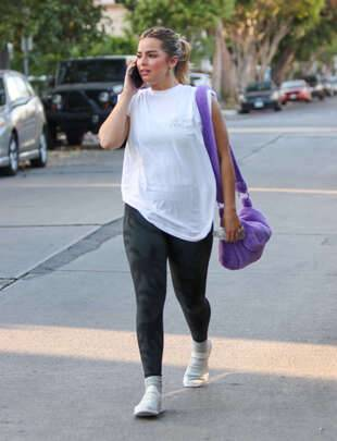 Addison Rae à Los Angeles