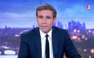 David Pujadas a présenté son dernier JT sur France 2 le jeudi 8 juin 2017