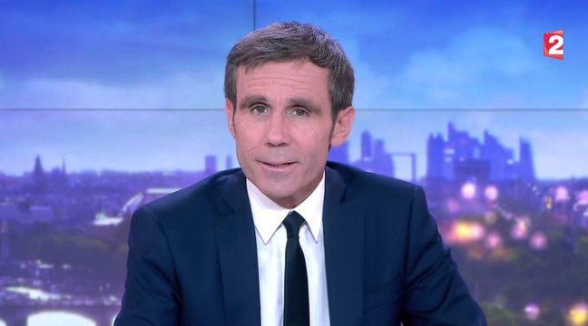 David Pujadas a présenté son dernier JT sur France 2 le jeudi 8 juin 2017. – France 2