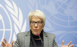 Carla Del Ponte a notamment travaillé sur les crimes de guerre dans l'ex-Yougoslavie.