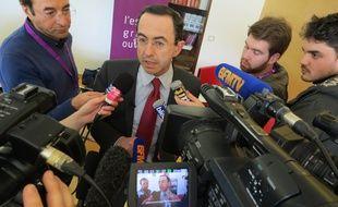 Bruno Retailleau, président du conseil régional des Pays de la Loire, le 12 février 2016.