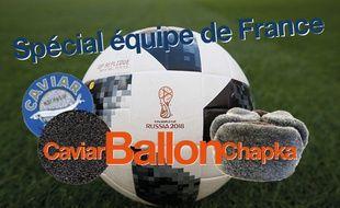 Caviar Ballon Chapka spécial EDF