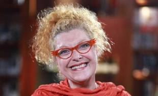 Corinne  Cosseron, fondatrice de l'ecole internationale du rire et de la rigologie, à Paris en juin 2011.