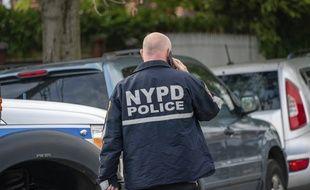 Un policer de New York (illustration).
