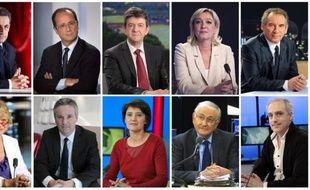 Les trois candidats qui se disputent la troisième place dans les sondages depuis le début de la campagne, Jean-Luc Mélenchon, Marine Le Pen et François Bayrou, mobilisent aussi leurs partisans pour ce dernier week-end avant le premier tour :
