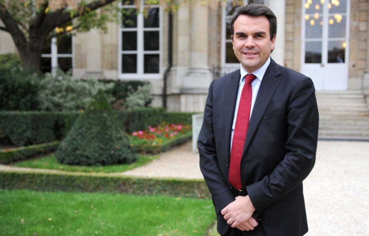 Thomas Thévenoud, le 30 octobre 2012 à l'Assemblée nationale –  CHAMUSSY/SIPA