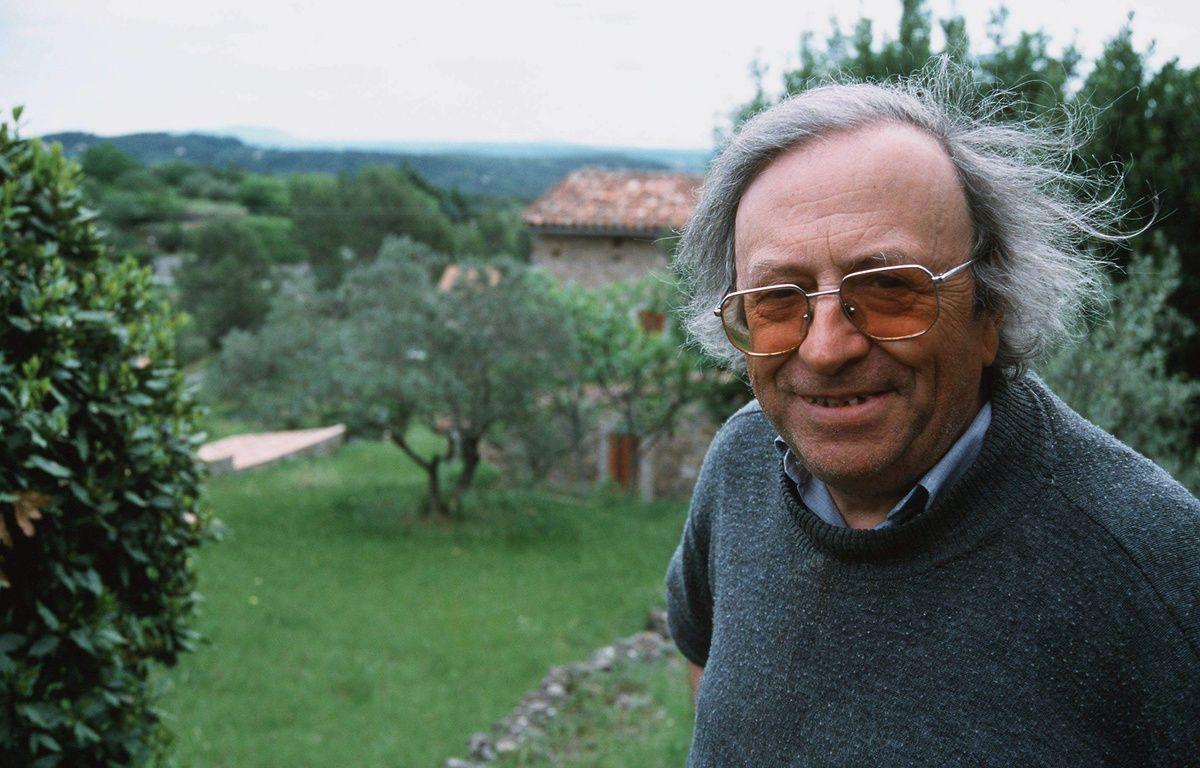 Michel Jeury, en 1999. – ANDERSEN/SIPA