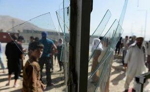 Attentat suicide contre un complexe appartenant au département anti-drogue du ministère de l'Intérieur le 22 juillet 2014 à Kaboul