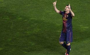 Le joueur du Barça Lionel Messi, le 27 octobre 2012, à Madrid.