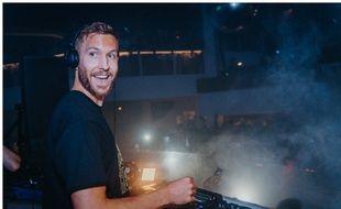 Calvin Harris au Pacha Ibiza le 28 août 2018.