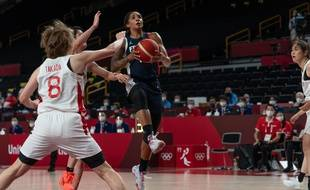 L'équipe de France de basket a perdu 74-70 contre le Japon aux JO 2021, le 27 juillet 2021.