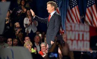 Le sénateur Rand Paul en campagne pour la primaire républicaine, à Louisville (Kentucky) le 7 avril 2015