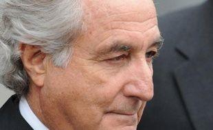 Le financier américain déchu Bernard Madoff le 10 mars 2009 à New York.