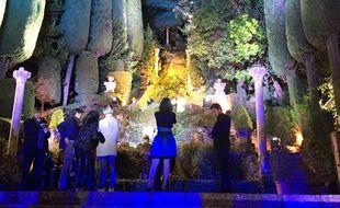 Les incroyables jardins de la Villa Domergue à Cannes le 19 mai 2016.