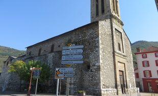 L'église de Tarascon.