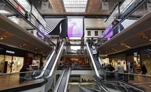 Le centre commercial Euralille.