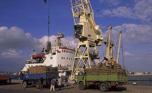 Illustration du port de Massawa en Erythrée.