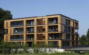 En Allemagne, de nombreuses habitations sont construites en bois