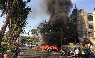 Une série d'attentats a eu lieu en Indonésie, du 13 au 14 mai 2018.