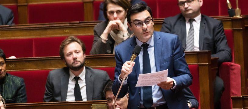 Benoit Simian, député LREM de la 5° circonscription de la Gironde, dans le Médoc.