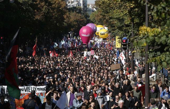 Manifestation du 21 septembre: Entre 16.000 et 55.000 personnes ont défilé à Paris contre la réforme du Code du travail