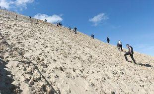 La dune du Pyla, au sud du bassin d'Arcachon (Gironde).
