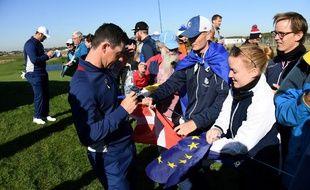 Rory McIlroy disputera sa conquième Ryder Cup au Golf National.
