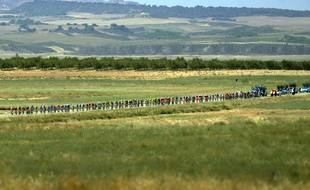 Pas d'incidents pour les coureurs de la Ruta del Sol.