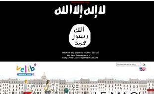 Le blog «Le Mag» de Vélib a été piraté par des hackers se  revendiquant de Daesh, ce 7 mars 2015.