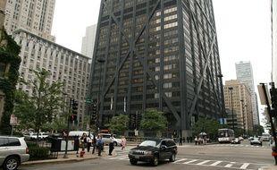 L'ascenseur a chuté depuis le 95e étage du gratte-ciel.