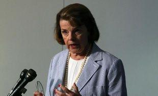 Dianne Feinstein, la responsable de la puissante commission du Renseignement du Sénat américain, le 5 septembre 2013, à Washington