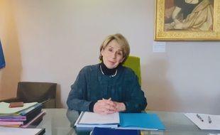 Brigitte Barèges, au lendemain de sa condamnation à cinq ans d'inéligibilité par le tribunal correctionnel dans une vidéo postée sur sa page Facebook.