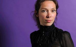 Leonor de Recondo, violoniste et romancière française, au Salon du livre 2012