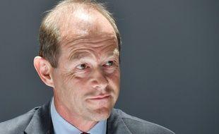Allan Sichel est le nouveau président du conseil interprofessionnel des vins de Bordeaux (CIVB). / AFP PHOTO / GEORGES GOBET