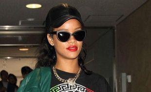 Rihanna à l'aéroport international de Tokyo au Japon le 16 août 2012.