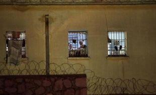 La prison de Korydallos à Athènes le 3 mai 2015