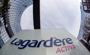 Le siège de Lagardère Active, à Levallois-Perret (Hauts-de-Seine), en octobre 2013.