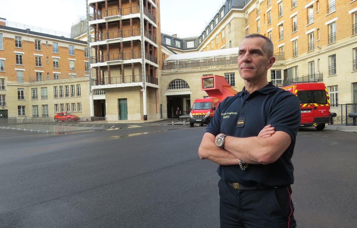 Le major Bernard Gama, 58 ans, part à la retraite après 38 ans de carrière à la BSPP – R.LESCURIEUX