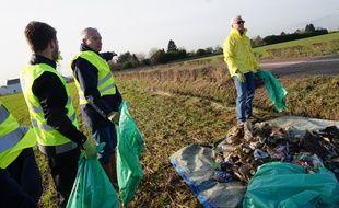 Un journée de test a été réalisée pour préparer au mieux le Défi environnement 77 organisé par Jean-Mary Guerraud et le Lions club.