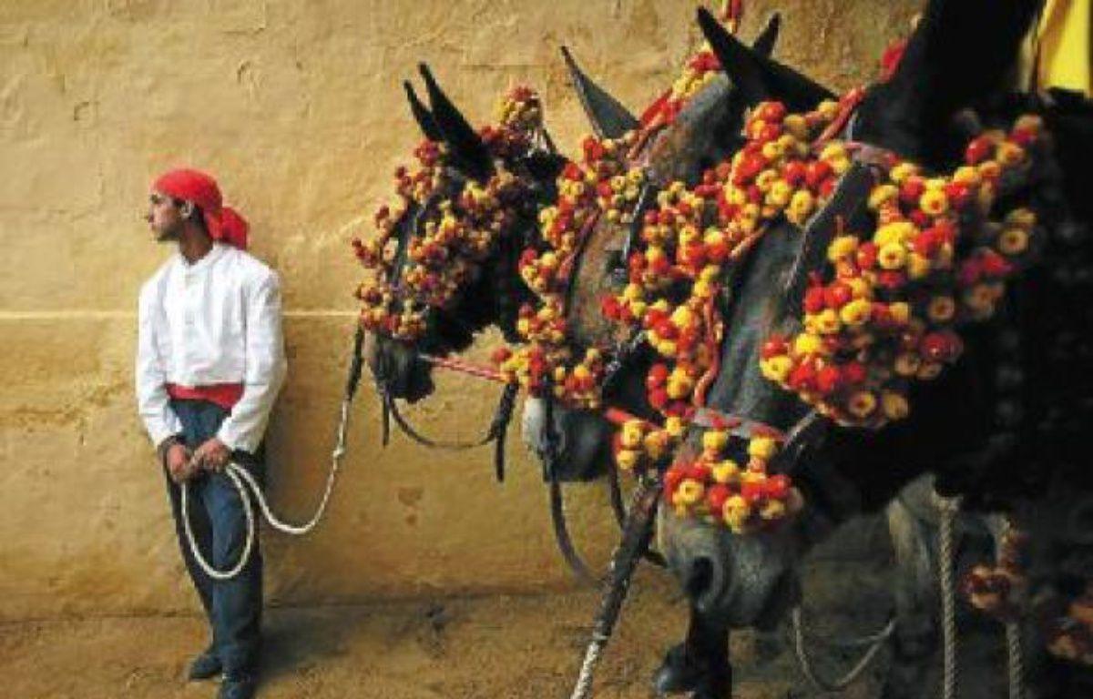 La ville de Jerez organise également des férias du cheval. –  E. MORENATTI / AP / SIPA